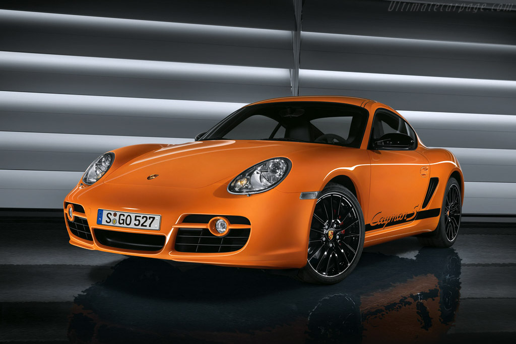 Click here to open the Porsche Cayman S Sport gallery