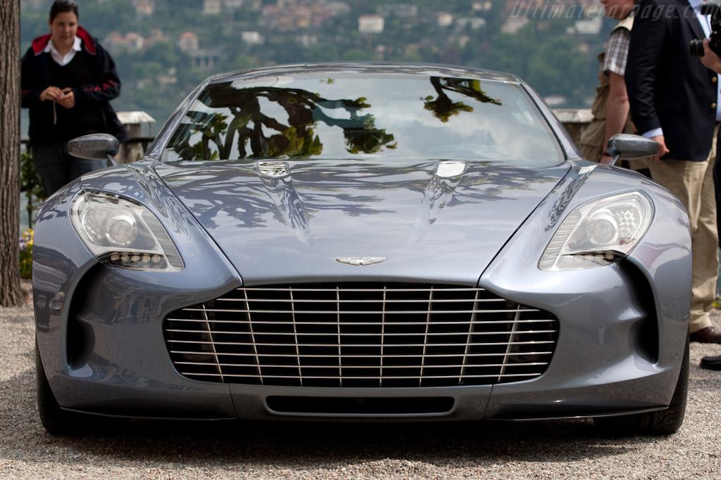 Aston Martin One-77    - 2009 Concorso d'Eleganza Villa d'Este