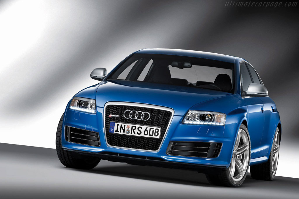 Click here to open the Audi RS 6 Saloon gallery