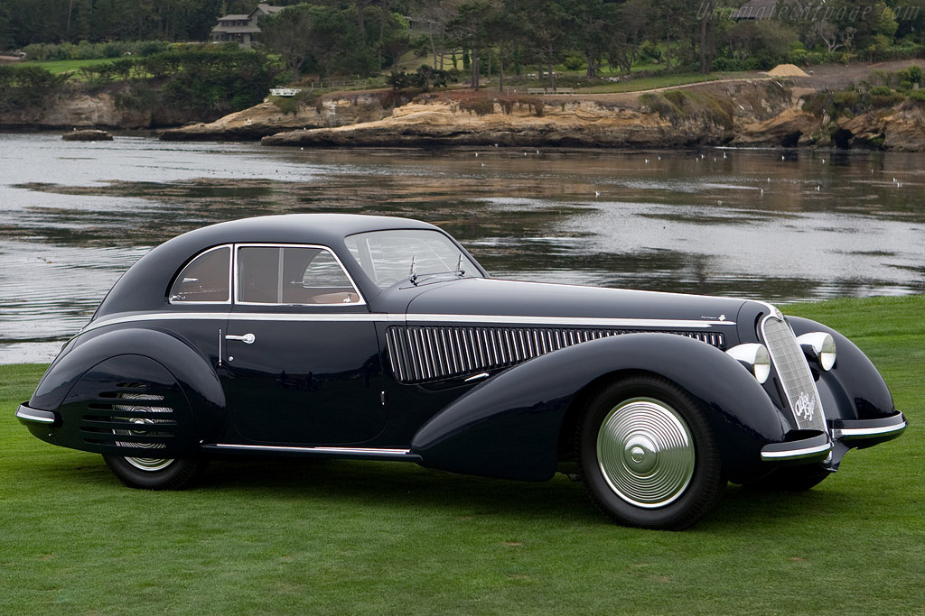 Alfa Romeo 8C 2900B Lungo Touring Berlinetta - Chassis: 412035   - 2008 Pebble Beach Concours d'Elegance