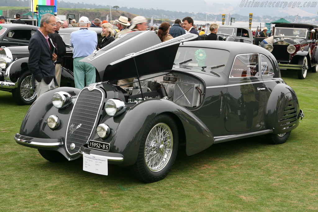 Alfa Romeo 8C 2900B Lungo Touring Berlinetta - Chassis: 412036   - 2006 Pebble Beach Concours d'Elegance