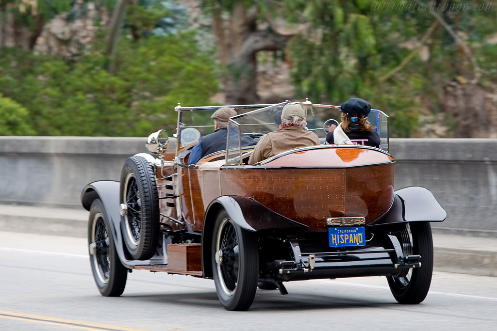 Hispano Suiza H6B Labourdette Skiff - Chassis: 12198   - 2008 Pebble Beach Concours d'Elegance