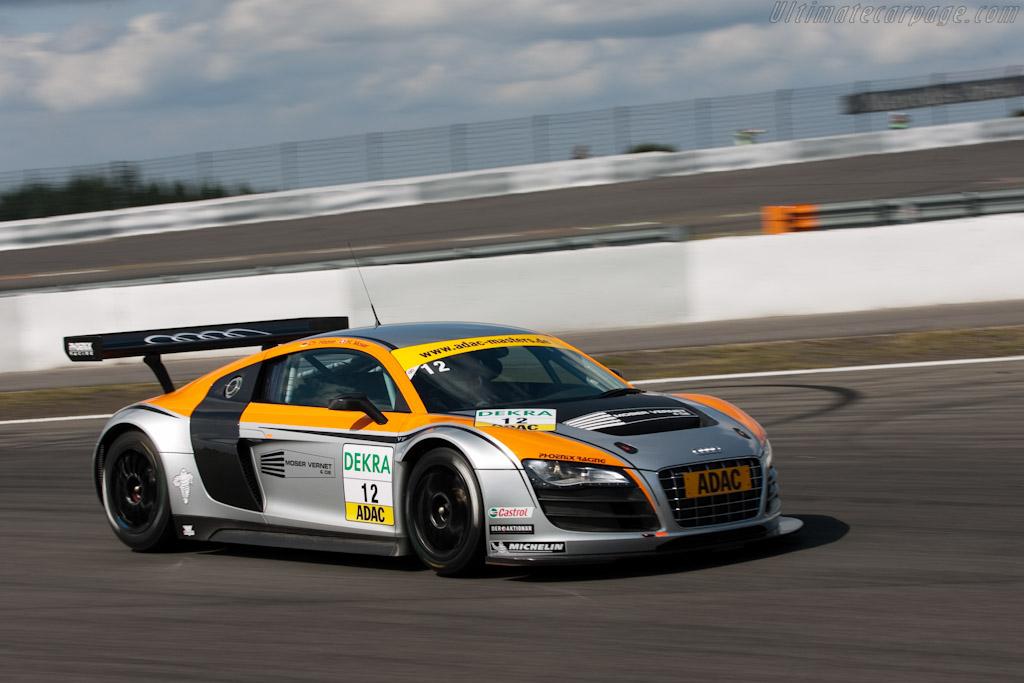 Audi R8 Lms 2009 Le Mans Series Nurburgring 1000 Km High