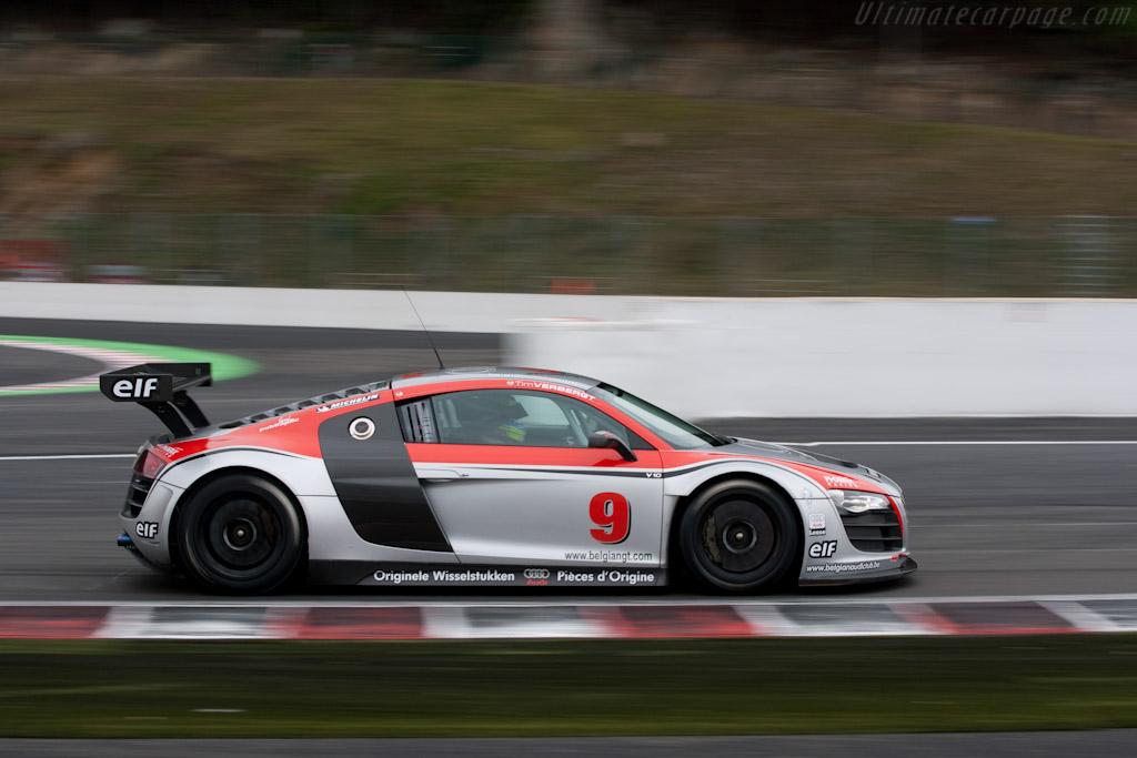 Audi R8 Lms 2009 Le Mans Series Spa 1000 Km