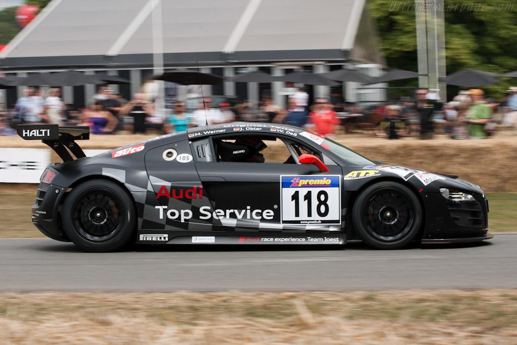 Audi R8 LMS    - 2010 Goodwood Festival of Speed