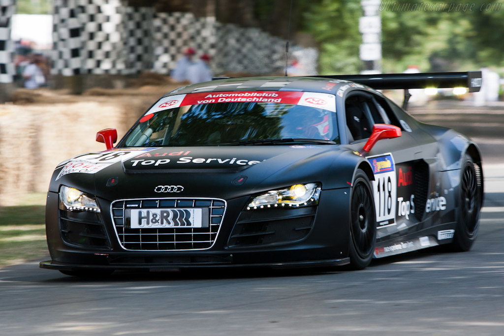Audi R8 LMS    - 2010 Goodwood Festival of Speed