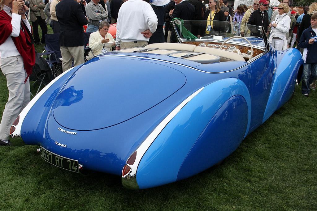 Delahaye 135 MS Faget-Varnet Cabriolet - Chassis: 801077   - 2008 Pebble Beach Concours d'Elegance