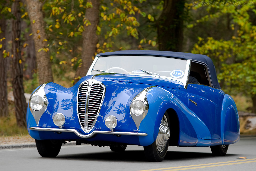 Click here to open the Delahaye 135 MS Faget-Varnet Cabriolet gallery
