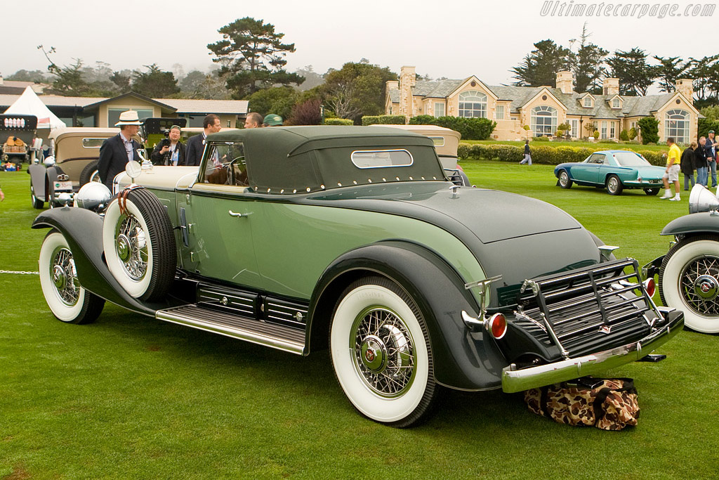 Cadillac 452 A V16 Rollston Convertible Coupe    - 2008 Pebble Beach Concours d'Elegance