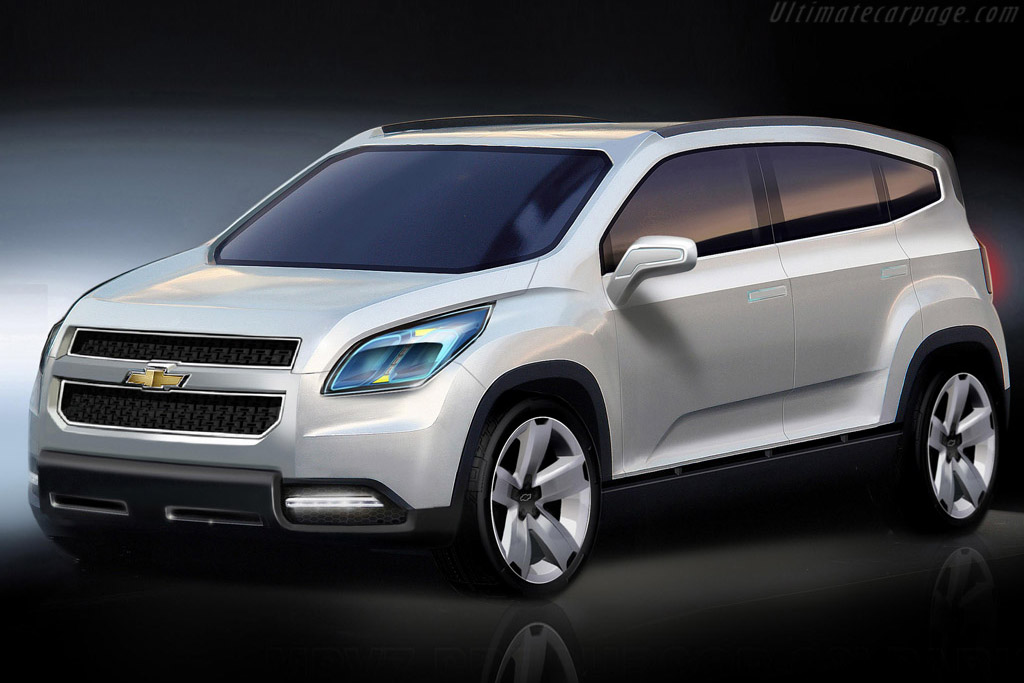 Click here to open the Chevrolet Orlando Concept gallery