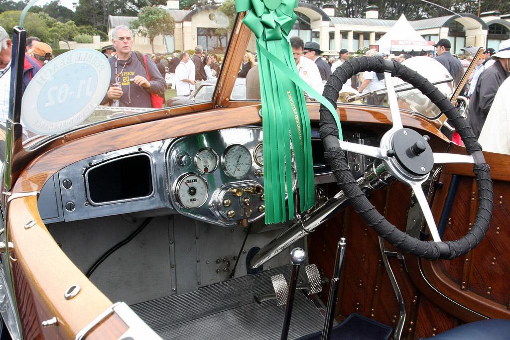 Delage GL Labourdette Skiff - Chassis: 15427   - 2008 Pebble Beach Concours d'Elegance