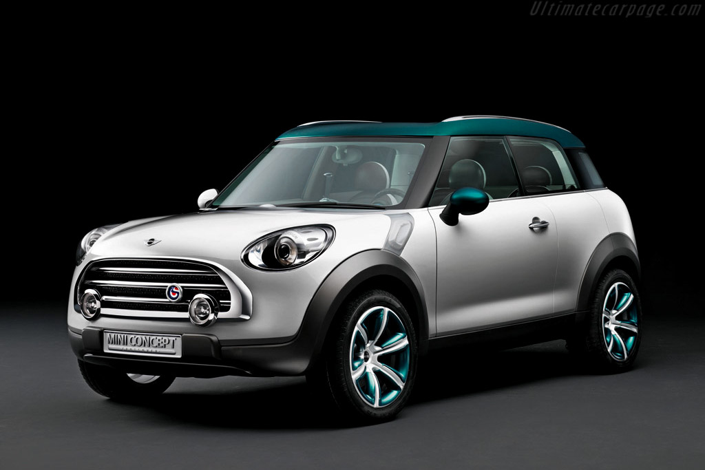 Click here to open the MINI Crossover Concept gallery