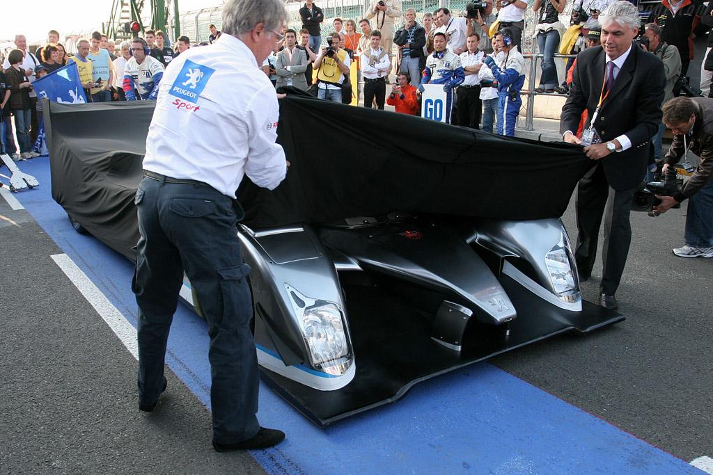Peugeot 908 HY    - 2008 Le Mans Series Silverstone 1000 km