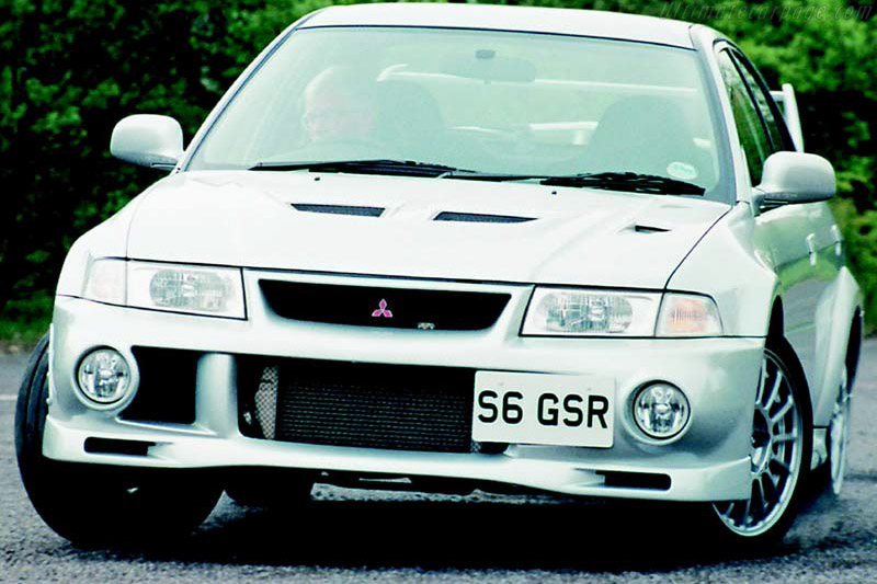 1999   2001 Mitsubishi Lancer EVO VI GSR   Images, Specifications And  Information