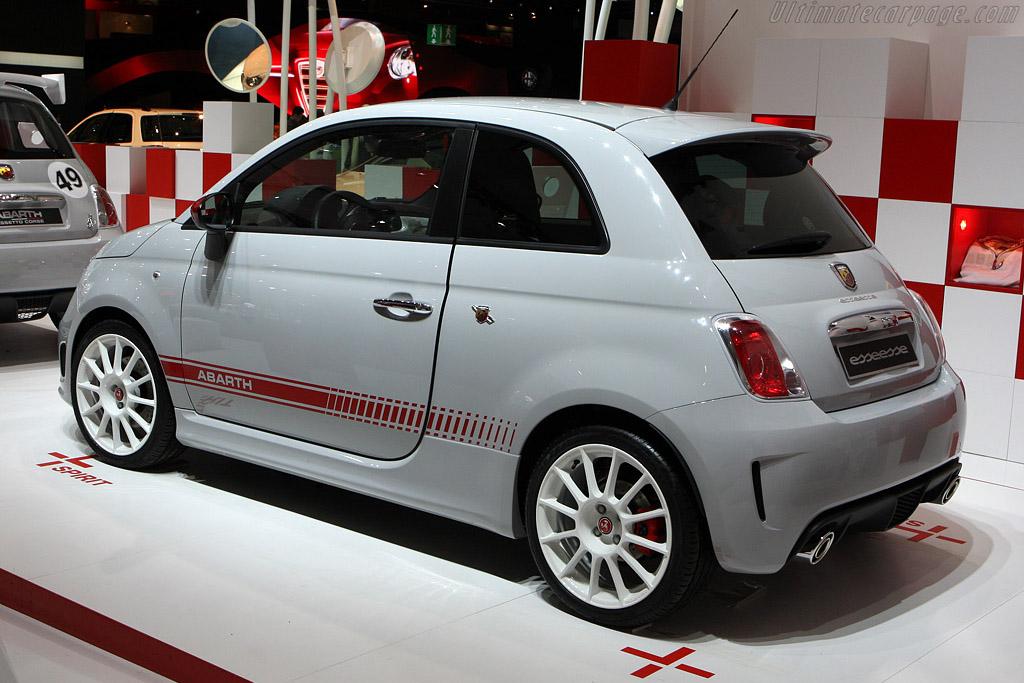 Fiat Abarth 500 esseesse    - 2008 Mondial de l'Automobile Paris