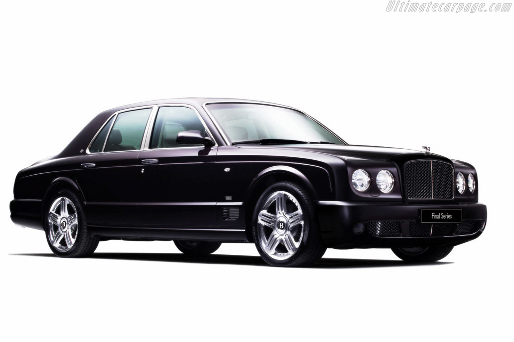 Click here to open the Bentley Arnage Final Series gallery