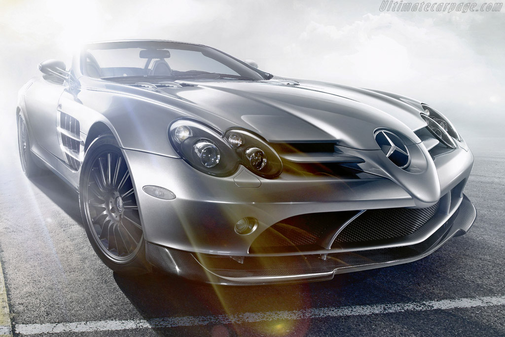 Click here to open the Mercedes-Benz SLR McLaren Roadster 722 S gallery