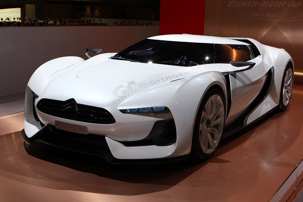 Click here to open the Citroën GT Concept gallery