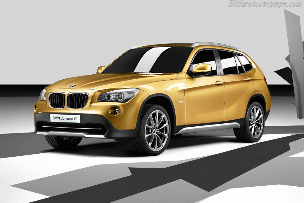 Click here to open the BMW Concept X1 gallery