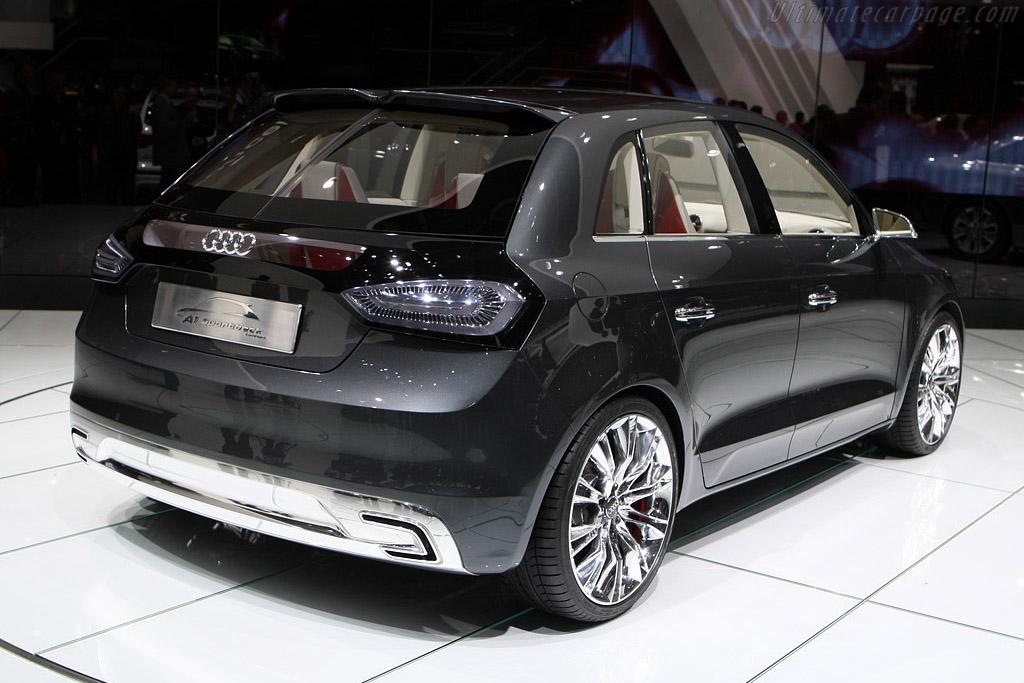 Audi A1 Sportback Concept    - 2008 Mondial de l'Automobile Paris