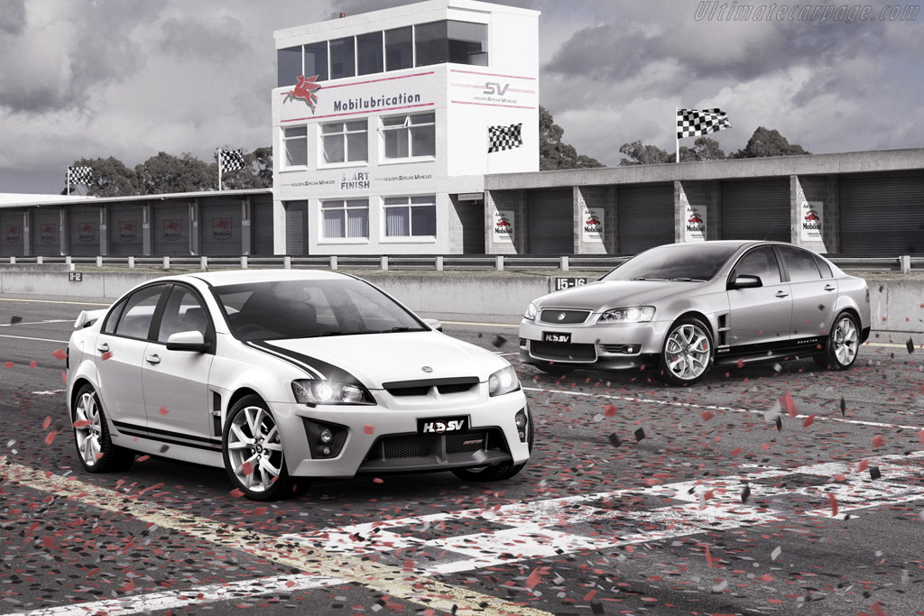 2008 Hsv Gts 40th Anniversary Images Specifications And Information