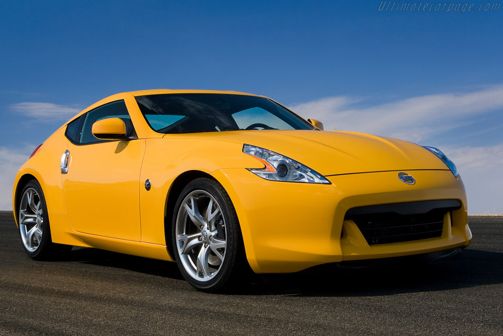 Click here to open the Nissan 370Z Coupe gallery