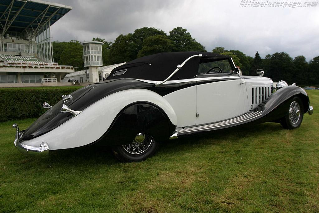 Hispano Suiza K6 Saoutchik Cabriolet    - 2004 European Concours d'Elegance
