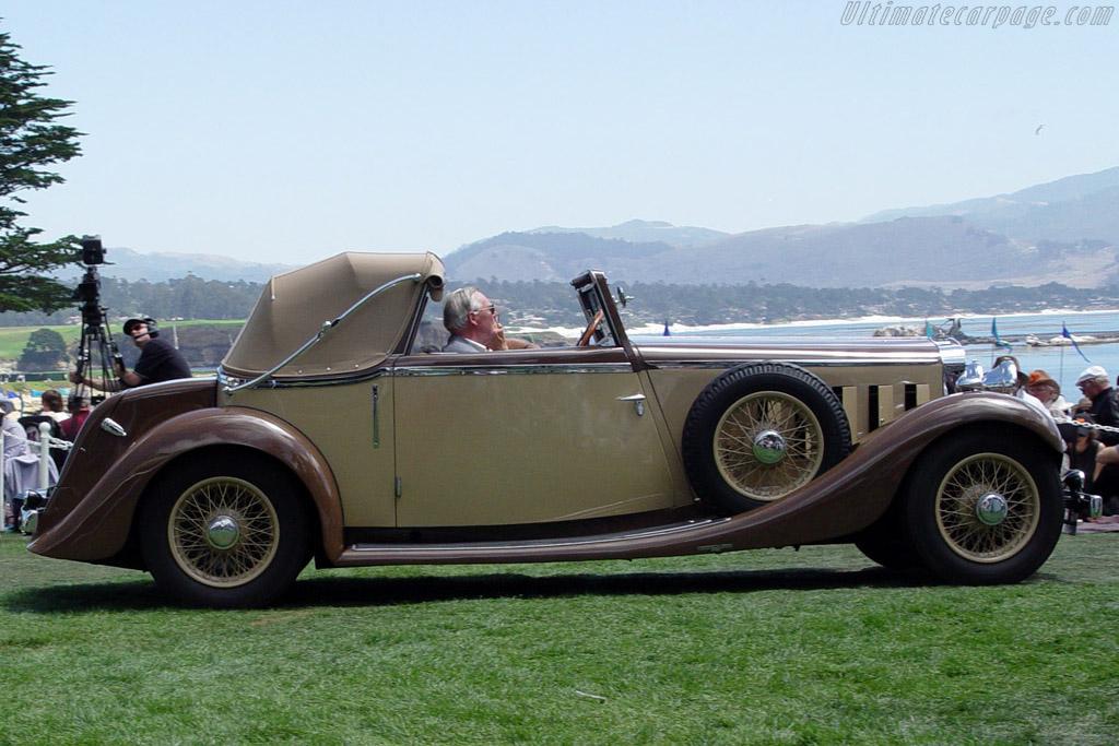 Hispano Suiza K6 Fernandez & Darrin Cabriolet    - 2004 Pebble Beach Concours d'Elegance