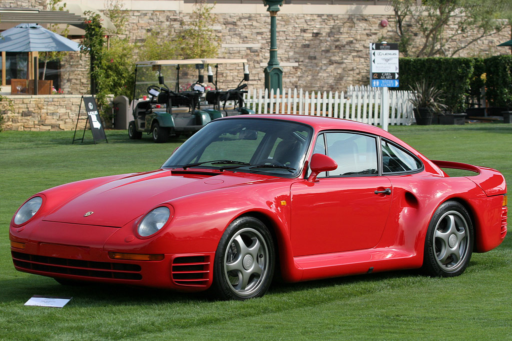 Porsche 959 Sport - Chassis: WP0ZZZ95ZJD905025   - 2008 The Quail, a Motorsports Gathering