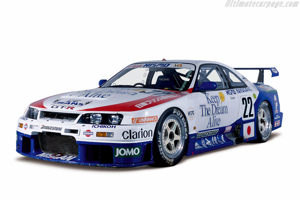 Click here to open the Nissan Skyline R33 GT-R LM gallery