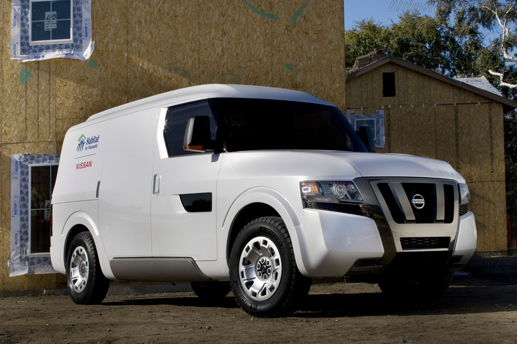 2009 Nissan Nv2500 Concept Images Specifications And