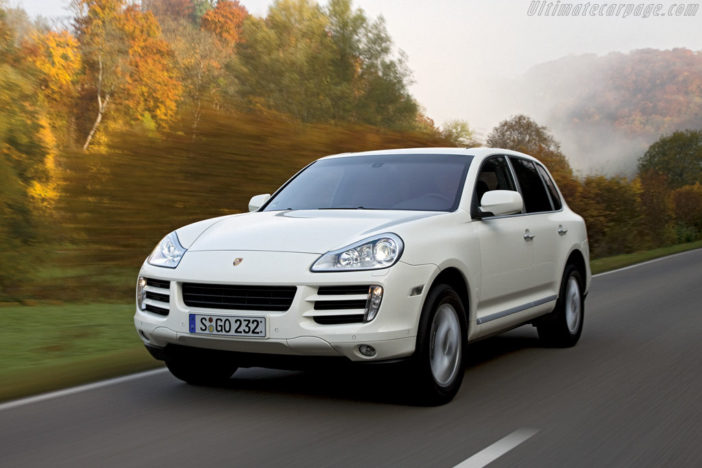 Click here to open the Porsche Cayenne Diesel gallery
