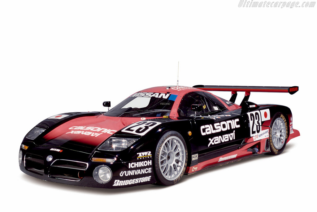 Click here to open the Nissan R390 GT1 gallery