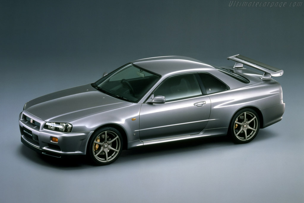1998 Nissan Skyline R34 GTR  Images Specifications and Information