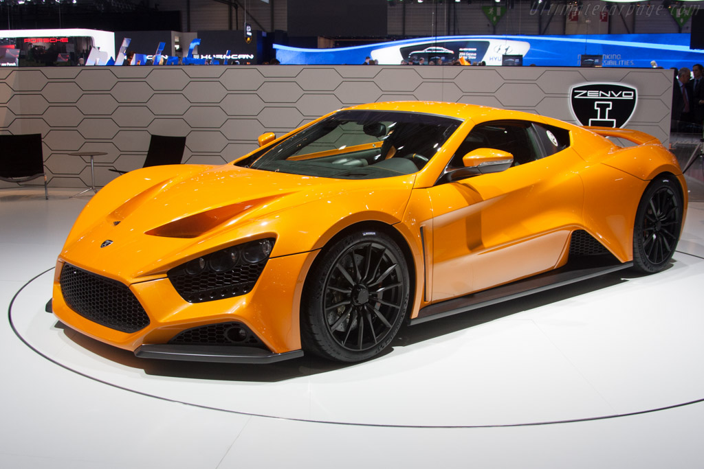 Click here to open the Zenvo ST1 gallery