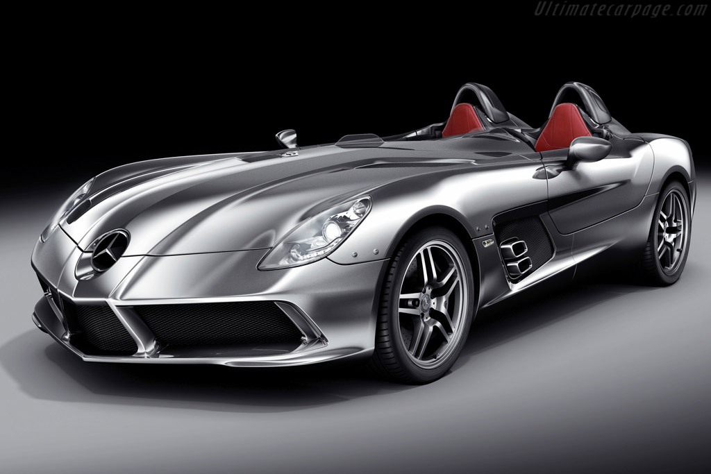 Click here to open the Mercedes-Benz SLR McLaren 'Stirling Moss' gallery