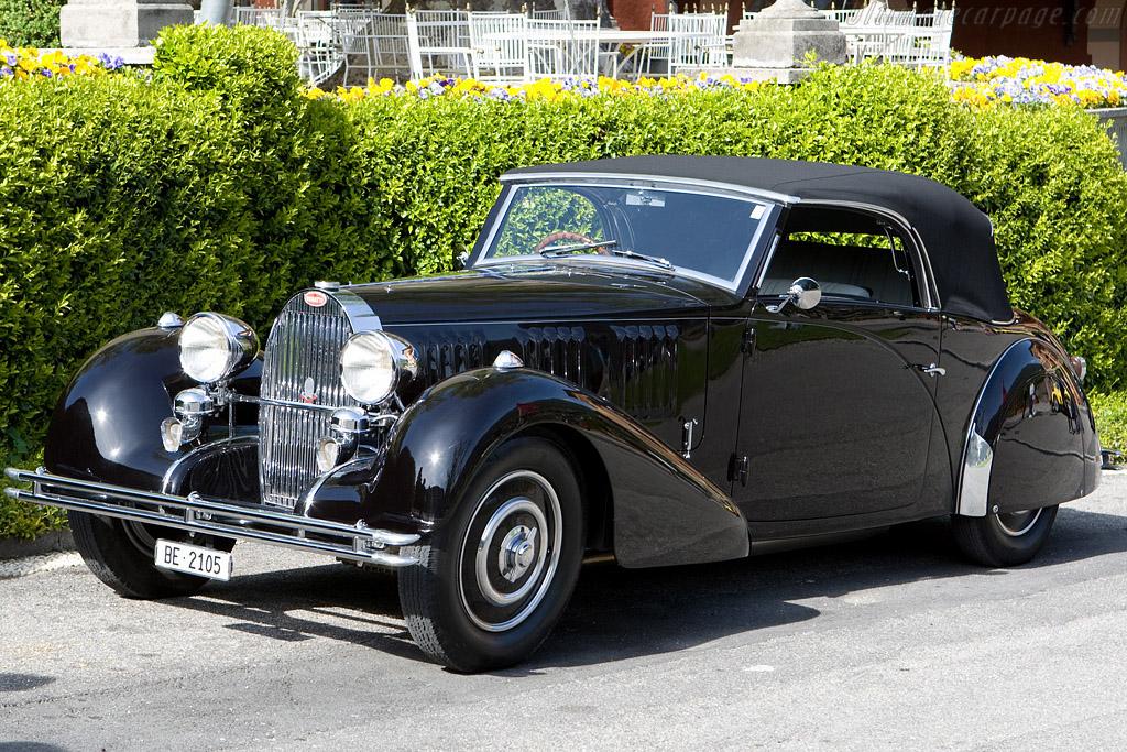 Bugatti Type 57 Graber Cabriolet - Chassis: 57444   - 2008 Concorso d'Eleganza Villa d'Este
