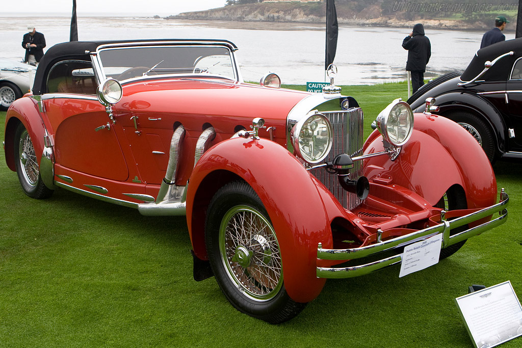 Mercedes-Benz 680 S Armbruster Cabriolet - Chassis: ?  - 2008 Pebble Beach Concours d'Elegance