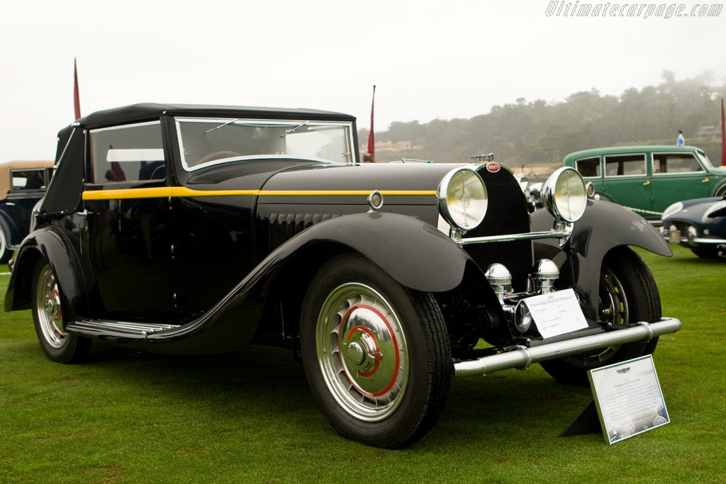 Click here to open the Bugatti Type 50 Brainsby-Woollard Cabriolet gallery