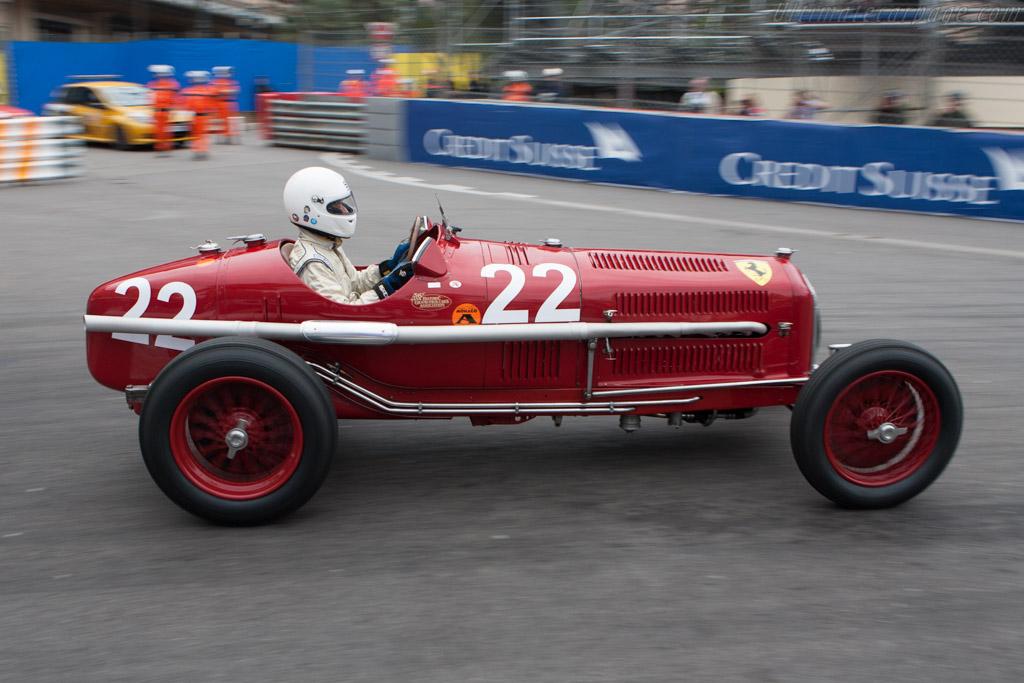 Alfa Romeo Tipo B P3 Monoposto - Chassis: 50006   - 2010 Monaco Historic Grand Prix