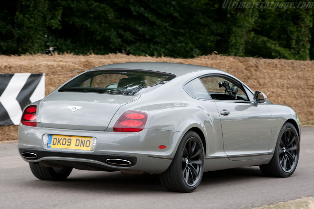 Bentley Continental Supersports 2009 Goodwood Festival