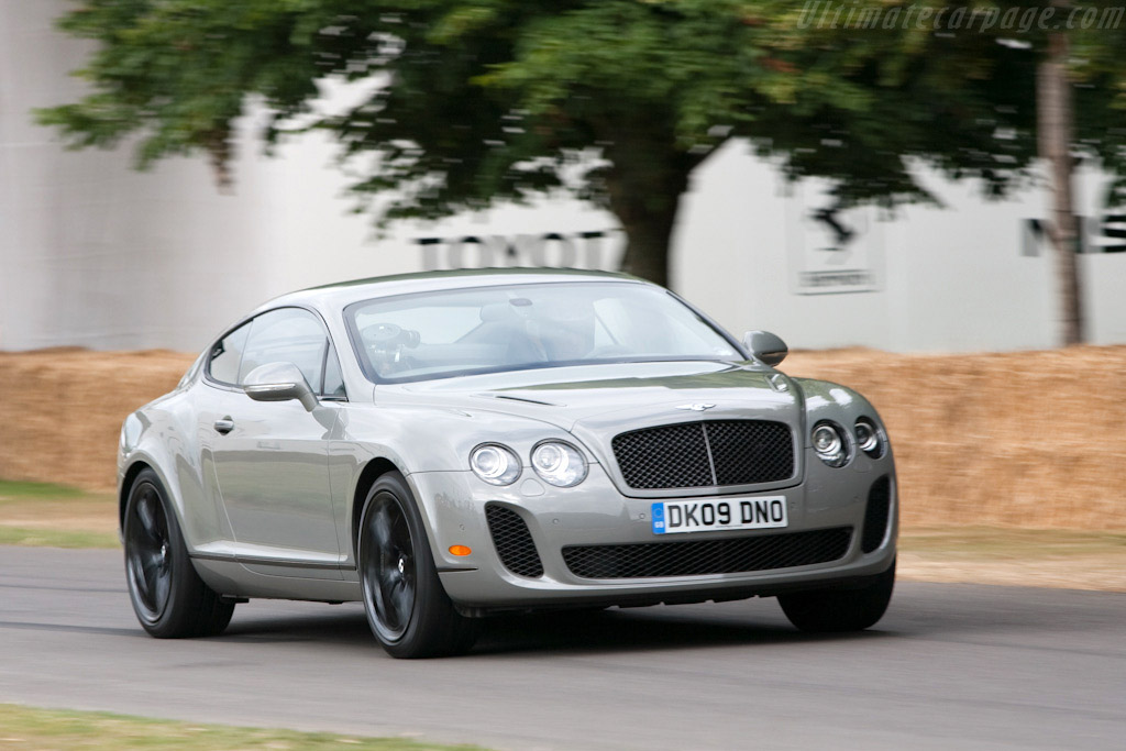 Bentley Continental Supersports    - 2009 Goodwood Festival of Speed