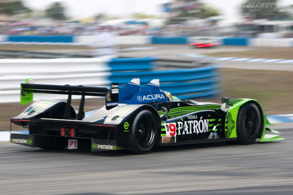 Acura ARX-02a - Chassis: ARX-02/2   - 2009 Sebring 12 Hours
