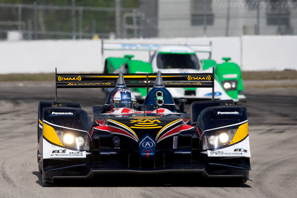 Acura ARX-02a - Chassis: ARX-02/1   - 2009 Sebring 12 Hours