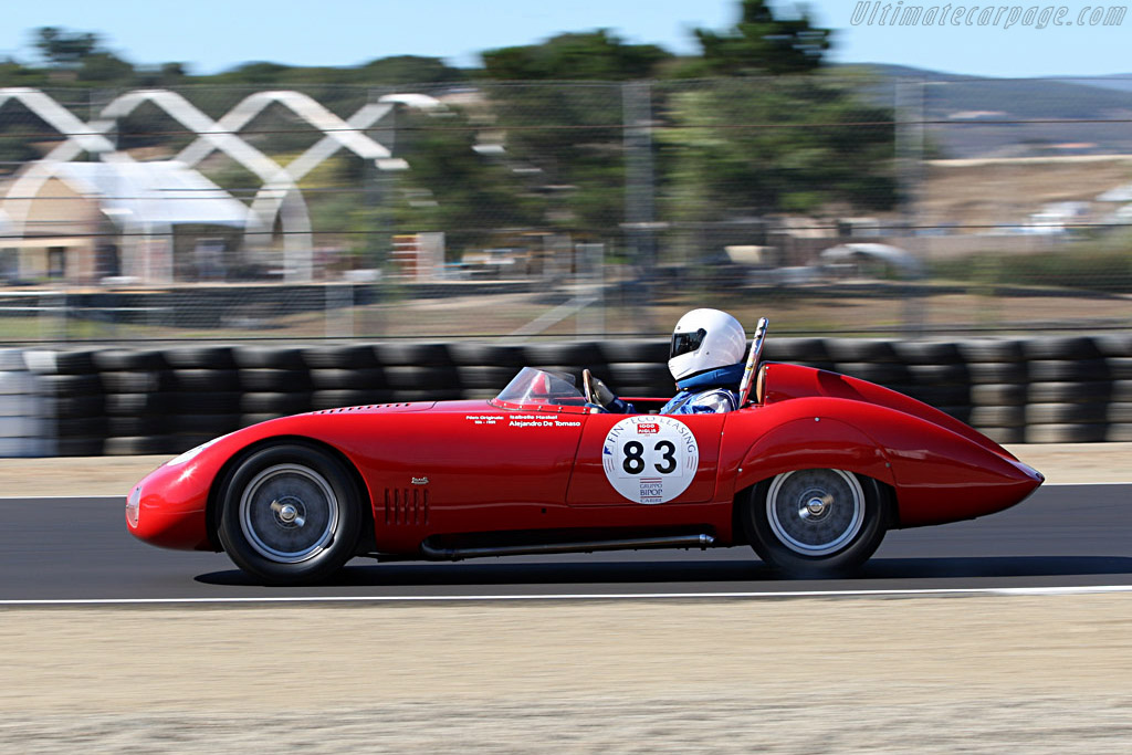 OSCA MT4 TN 1500 S Morelli Spider - Chassis: 1183   - 2007 Monterey Historic Automobile Races