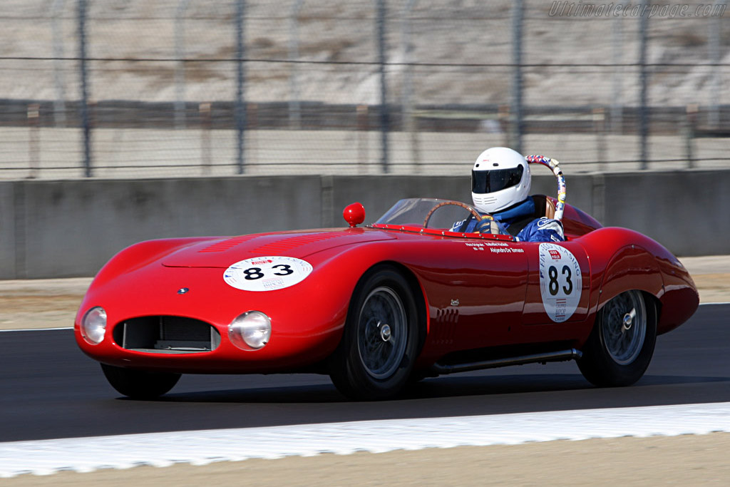 OSCA MT4 TN 1500 S Morelli Spider - Chassis: 1183   - 2007 Monterey Historic Automobile Races