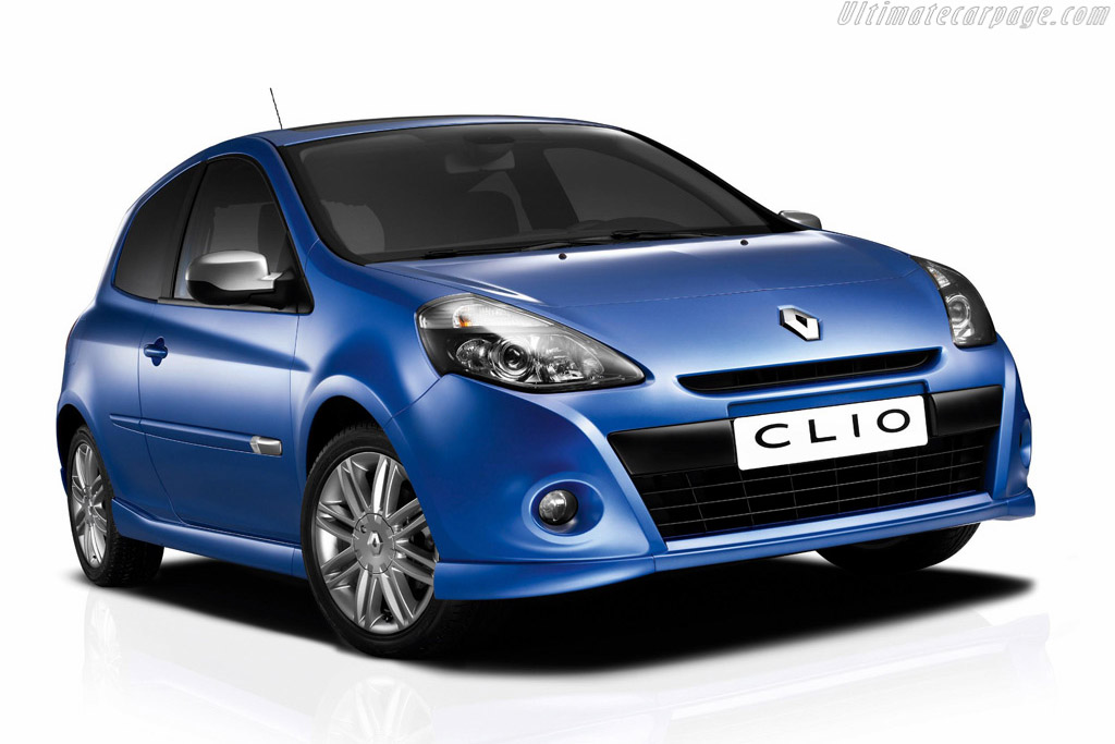 Click here to open the Renault Clio III GT gallery
