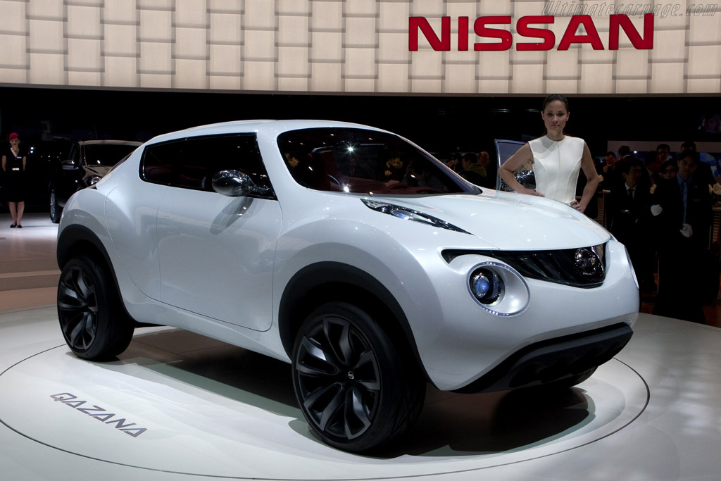 Click here to open the Nissan Qazana Concept gallery
