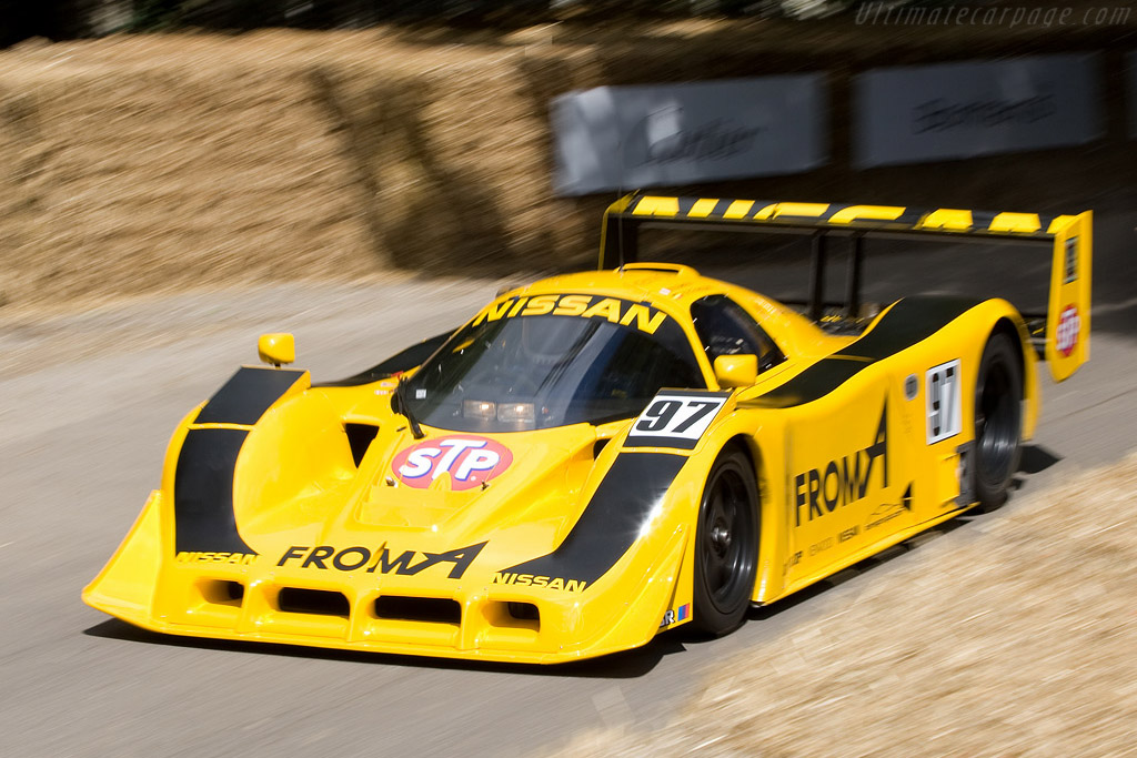 Nissan R91CP - Chassis: R90C/7   - 2008 Goodwood Festival of Speed