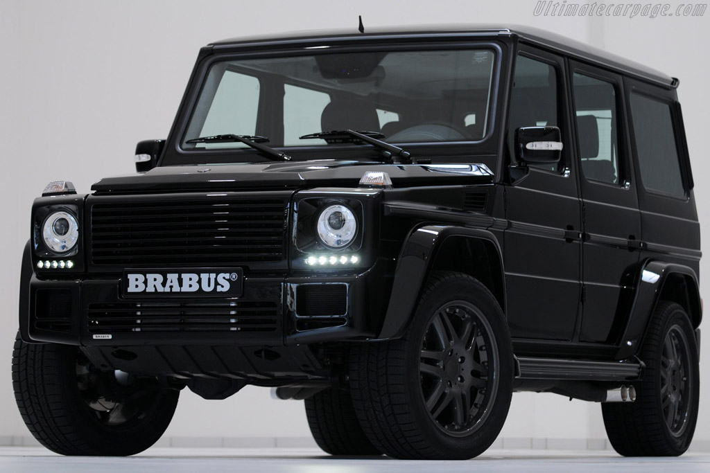 Click here to open the Brabus G V12 S BiTurbo gallery
